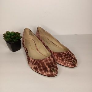 CHRISTIAN SIRIANO Gold Collection Shoes Sz 8.5
